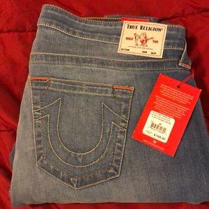 True Religion Jennie Curvy Skinny Jeans Sz 38
